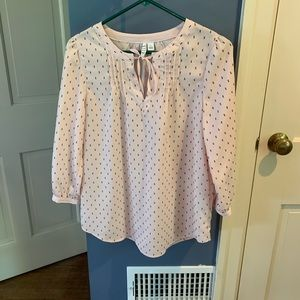 Elle. Size small. Pink blouse